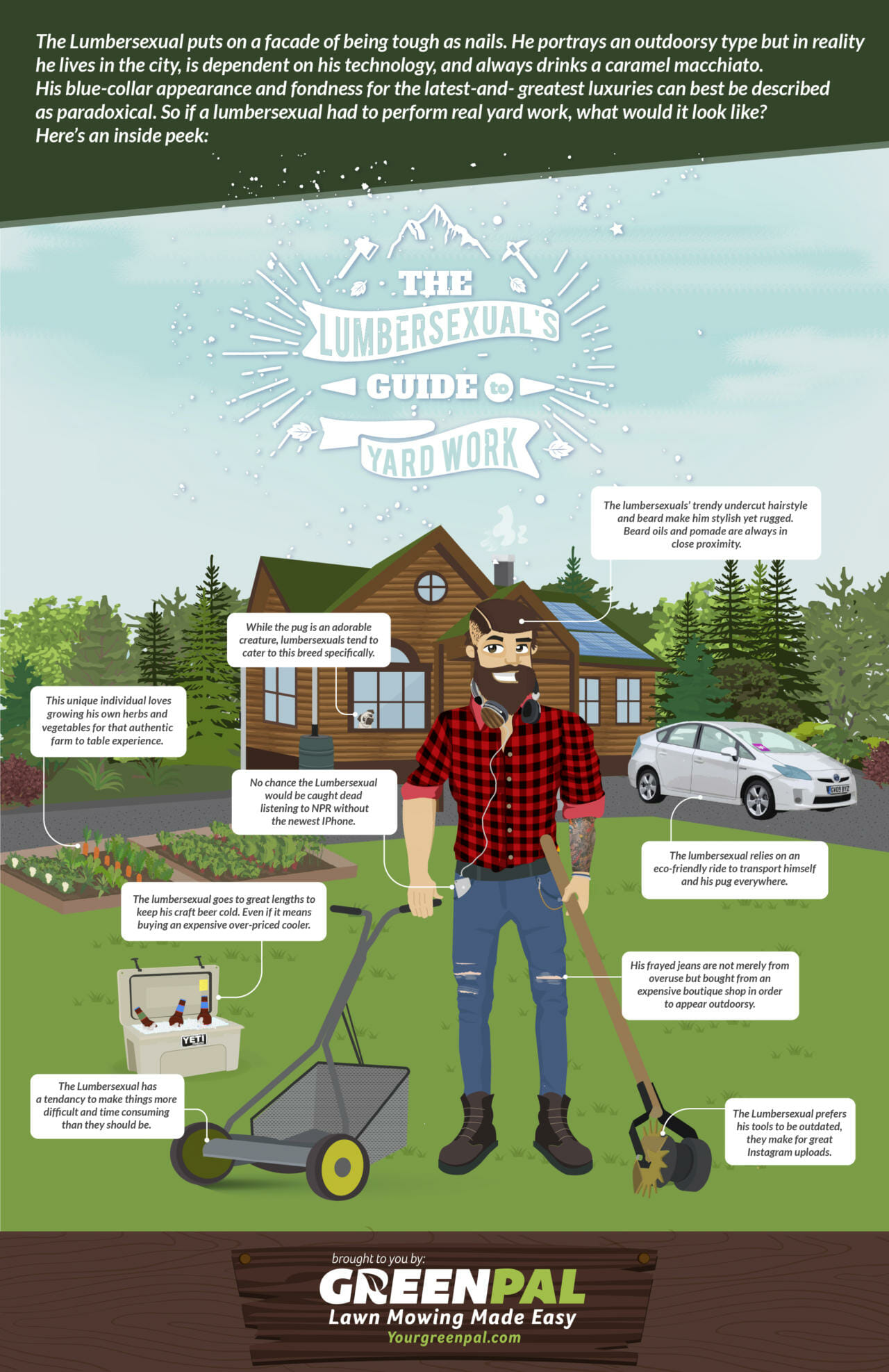 The Lumbersexual's Guide To Yard Work